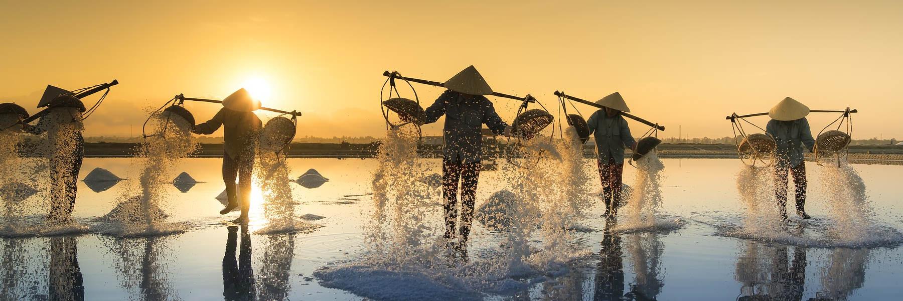 asien rundreise und baden